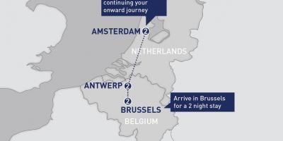 Bruksel Harta Harta Bruksel Belgjike